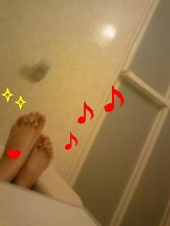お風呂でららら〜♪